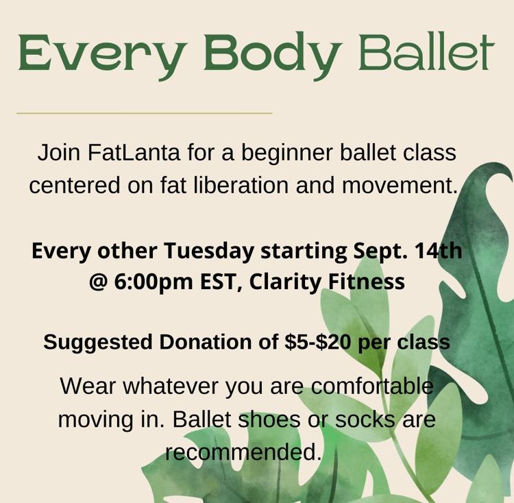 Every Body Ballet Class