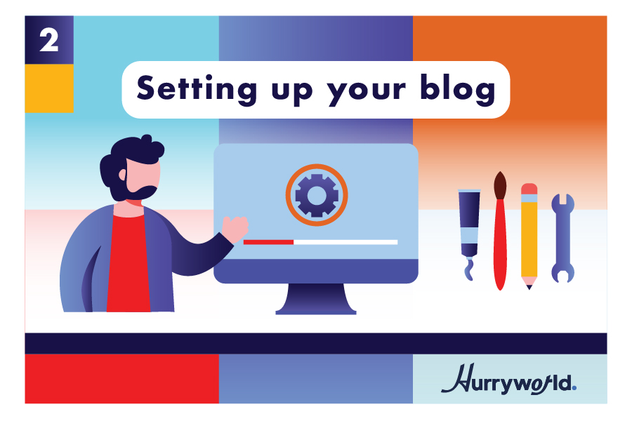 setting up your blog