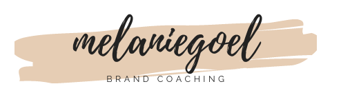 melaniegoel personal brand consulting logo