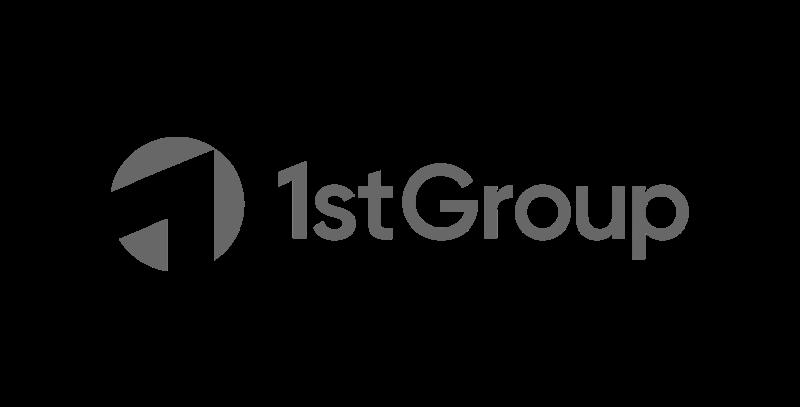 1stgroup logo greyscale