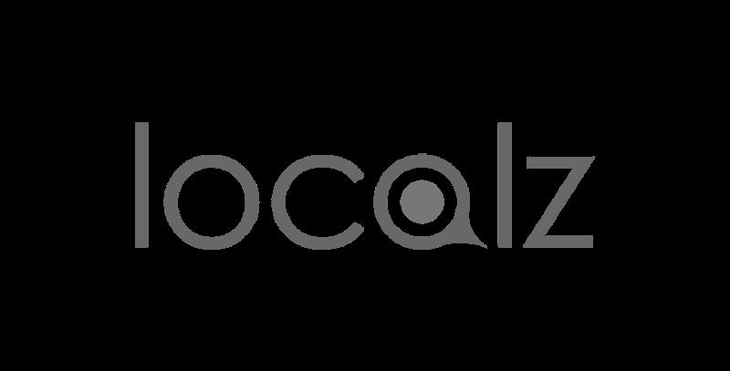 localz logo greyscale