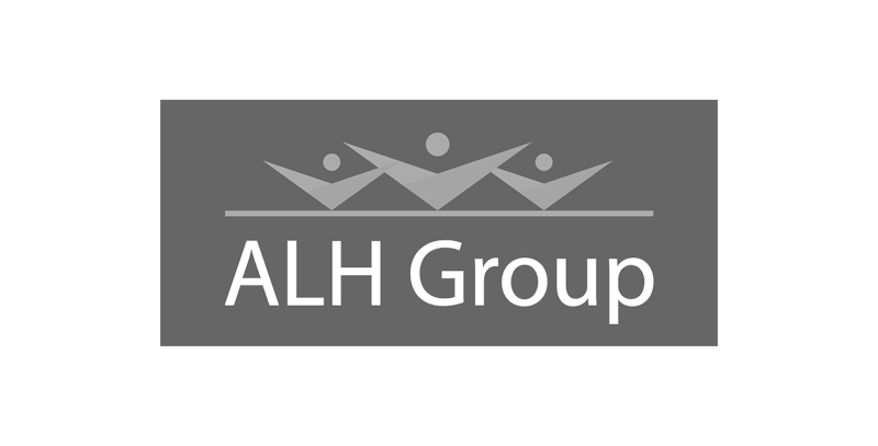 ALH Group logo greyscale