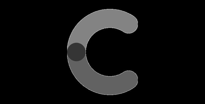 Creditclear logo greyscale