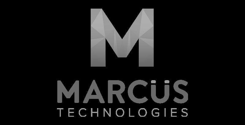 marcus logo greyscale