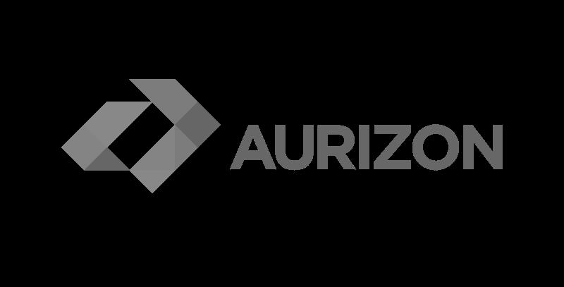 Aurizon logo greyscale