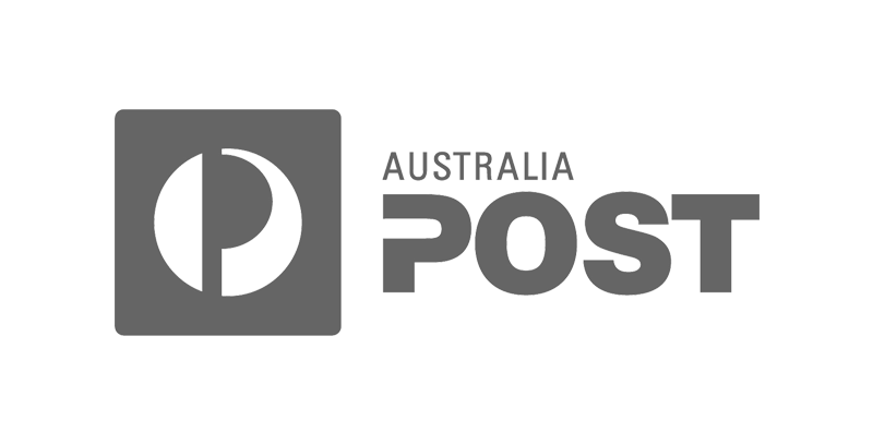 Australia Post logo greyscale