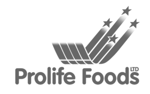 prolife foods logo greyscale