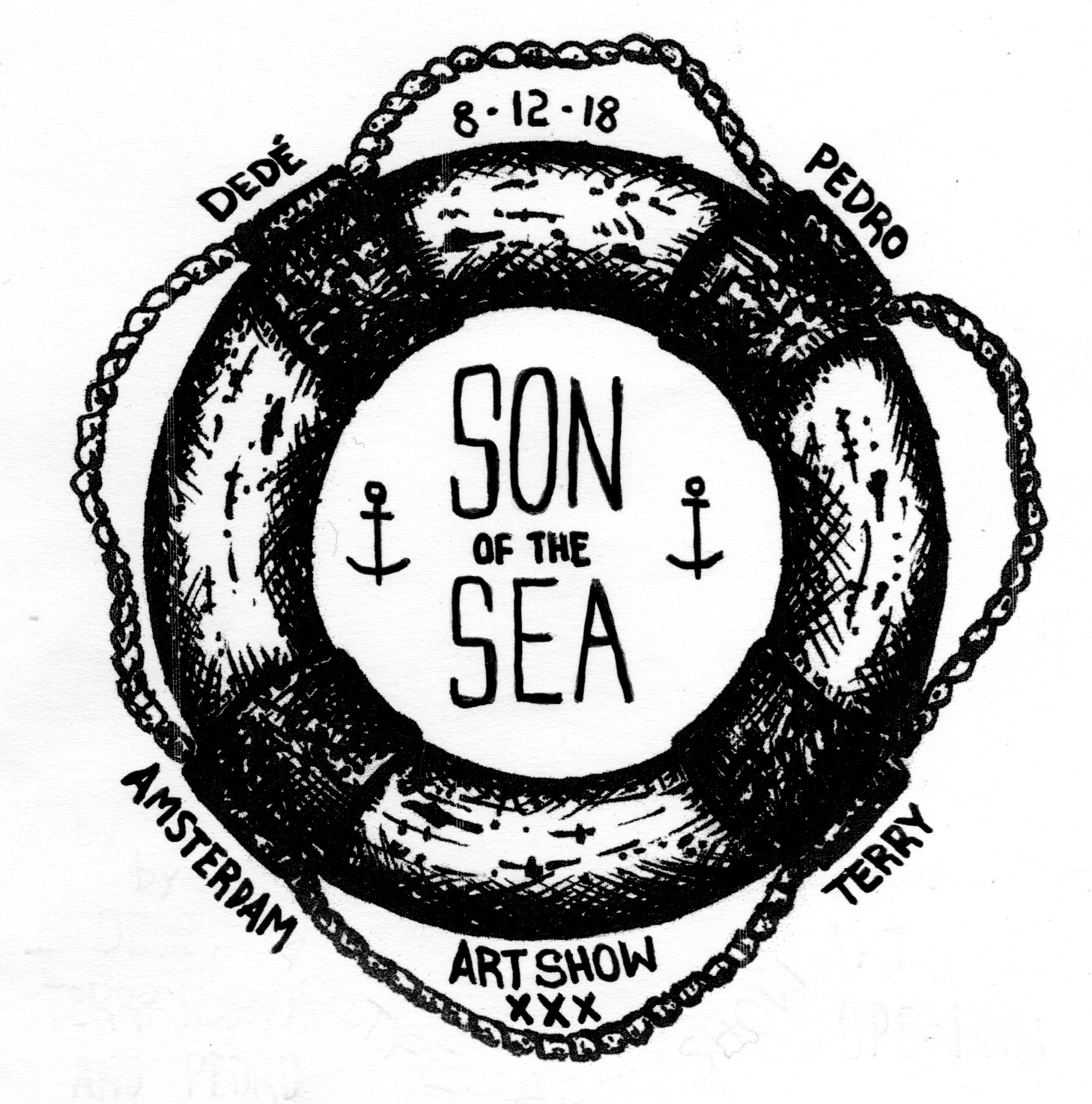 Son of the sea, the art show