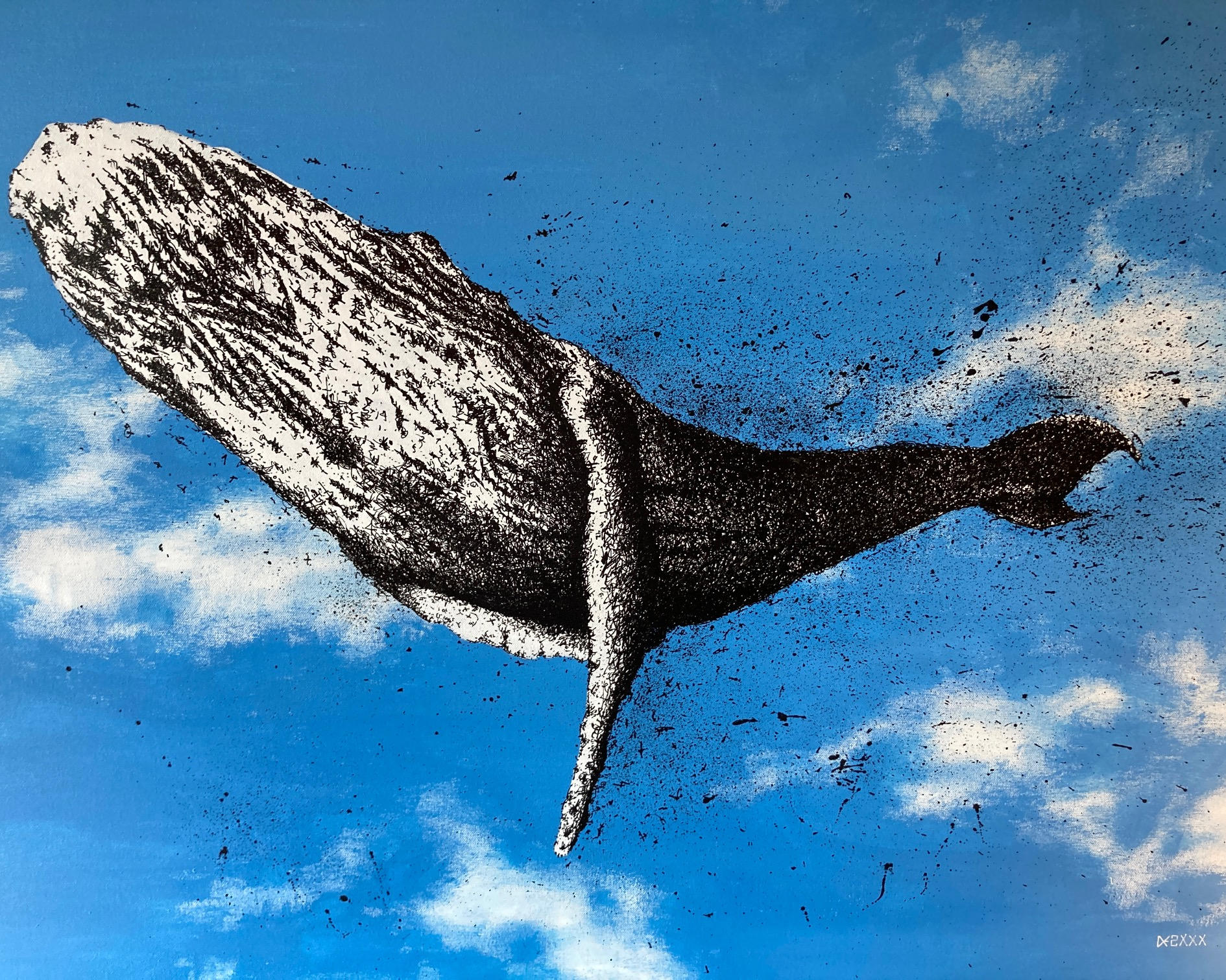 sky, the flying whale