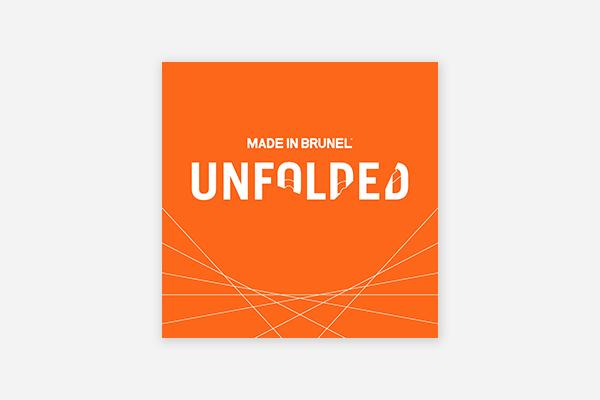 Made in Brunel: Unfolded - Podcast, Cover Artwork