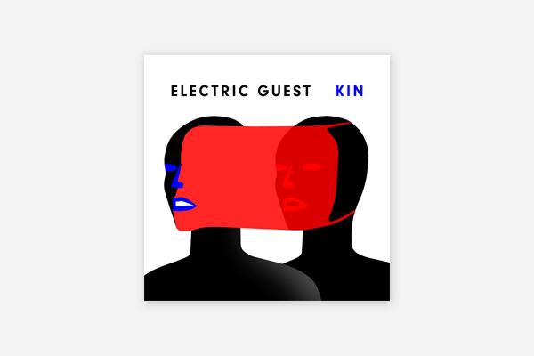 Electric Guest: KIN, Album Cover