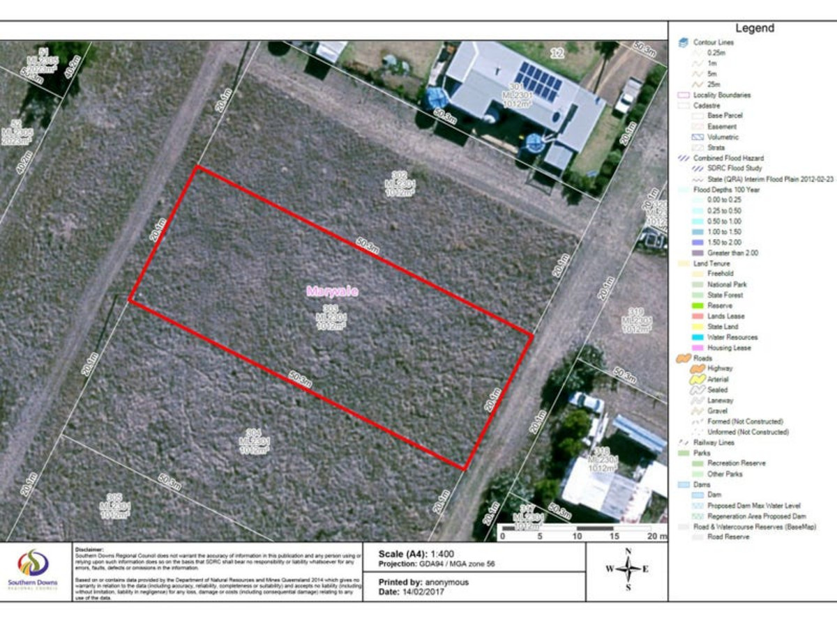 Lot 303 Ramsay Street, MARYVALE QLD 4370