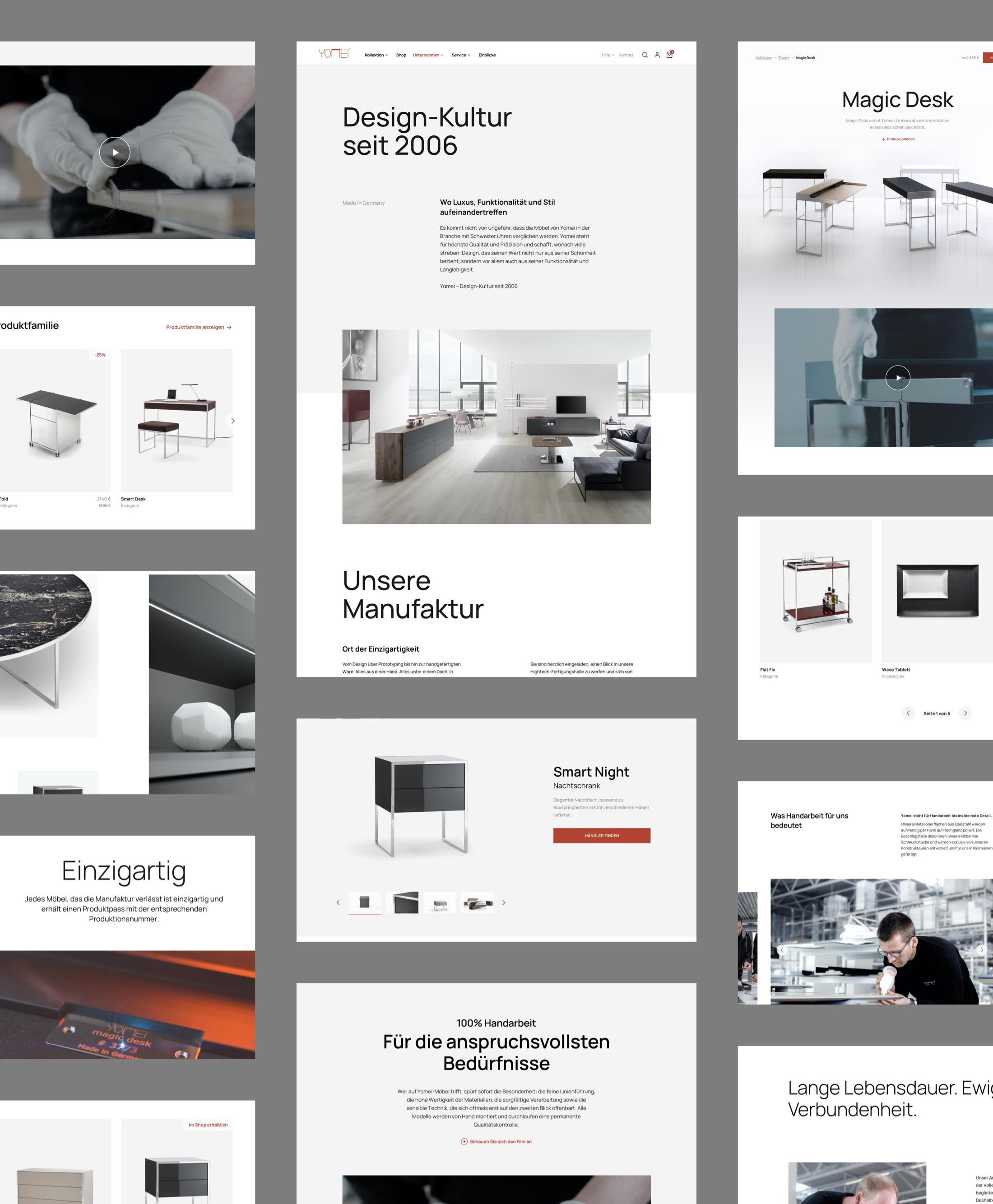 Website Layout Collage