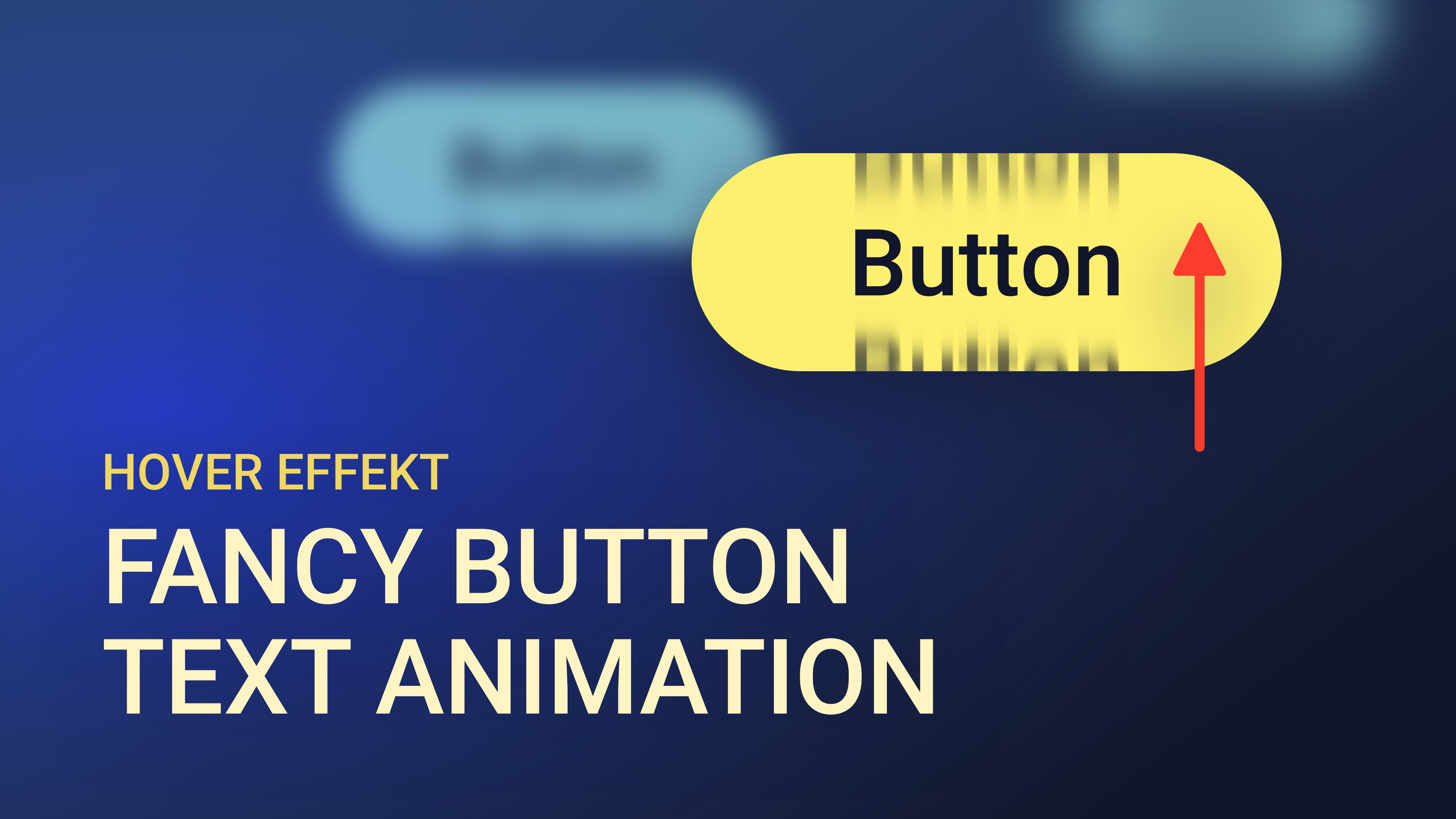 Fancy Button Text Animation