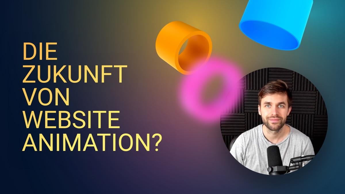 Die Zukunft von Website Animationen? Das kann Webflow!
