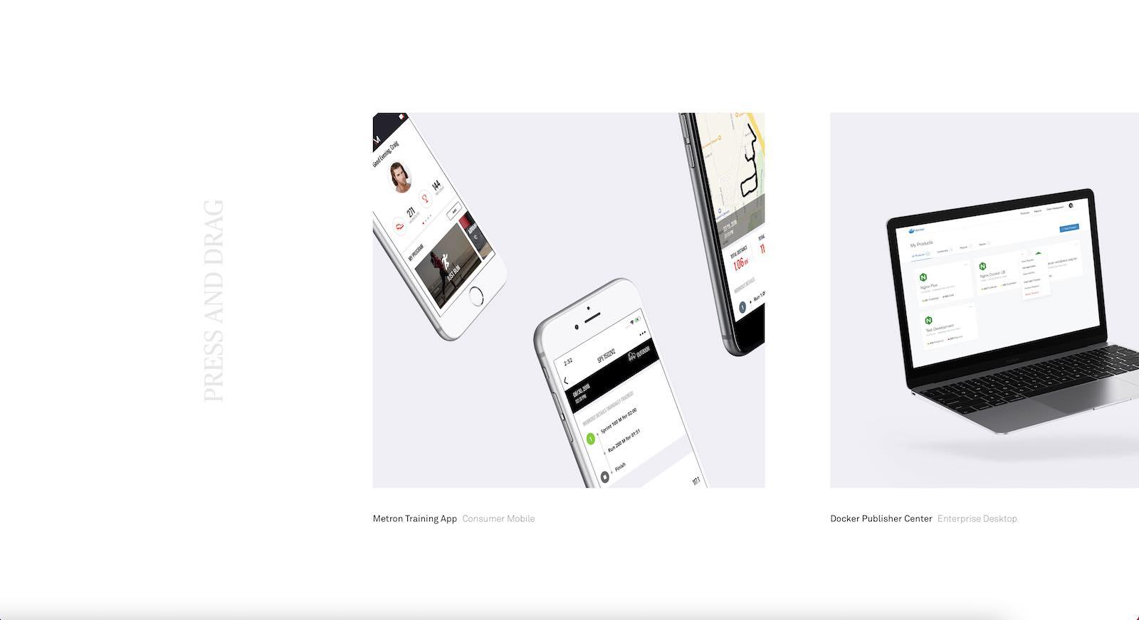 CJ Hersh Portfolio Website Layout