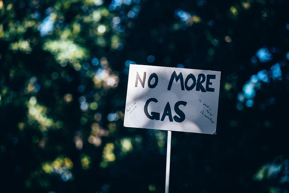 No. More. Gas.