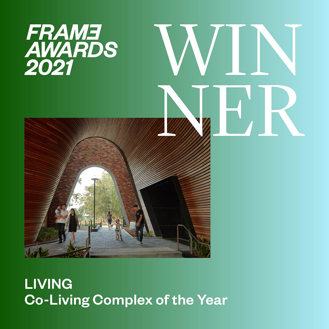 Arkadia wins 2021 Frame Award for Co-Living Complex of the Year