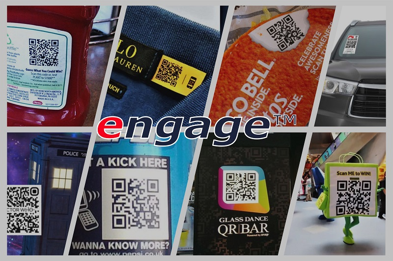 engage - QR codes work well in engaging customers and helping them gain the support they need