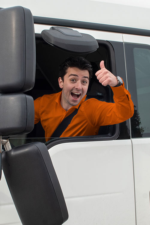 Vrachtwagenrijbewijs halen in Oosterhout