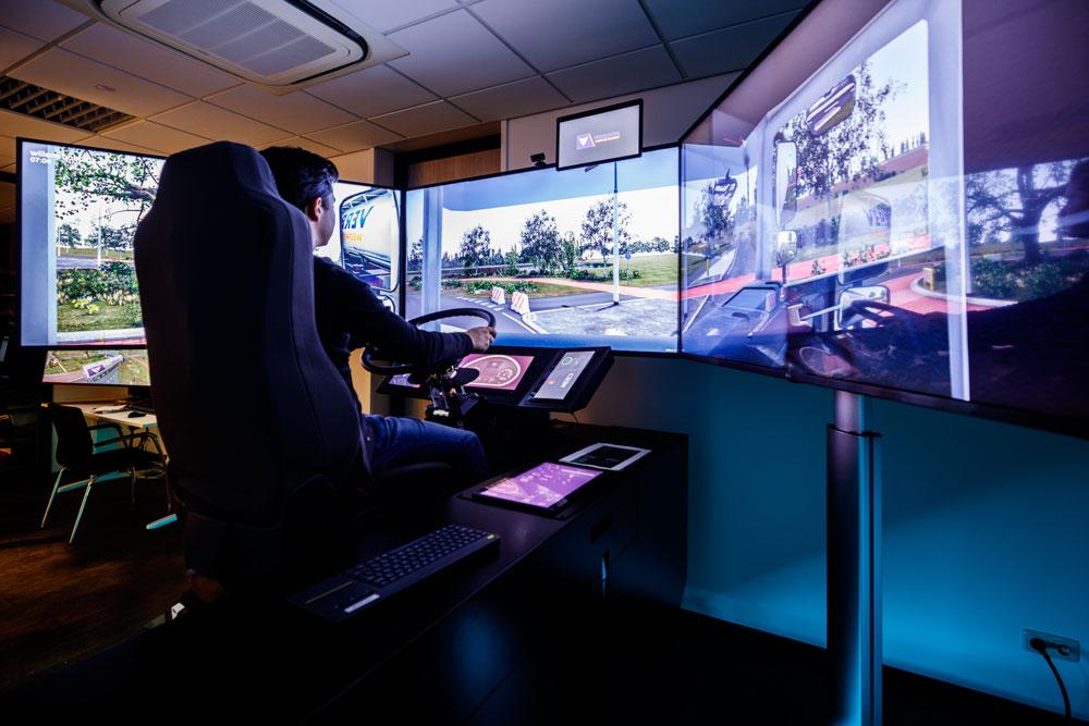 unieke e-learning en nascholing code 95 in een simulator