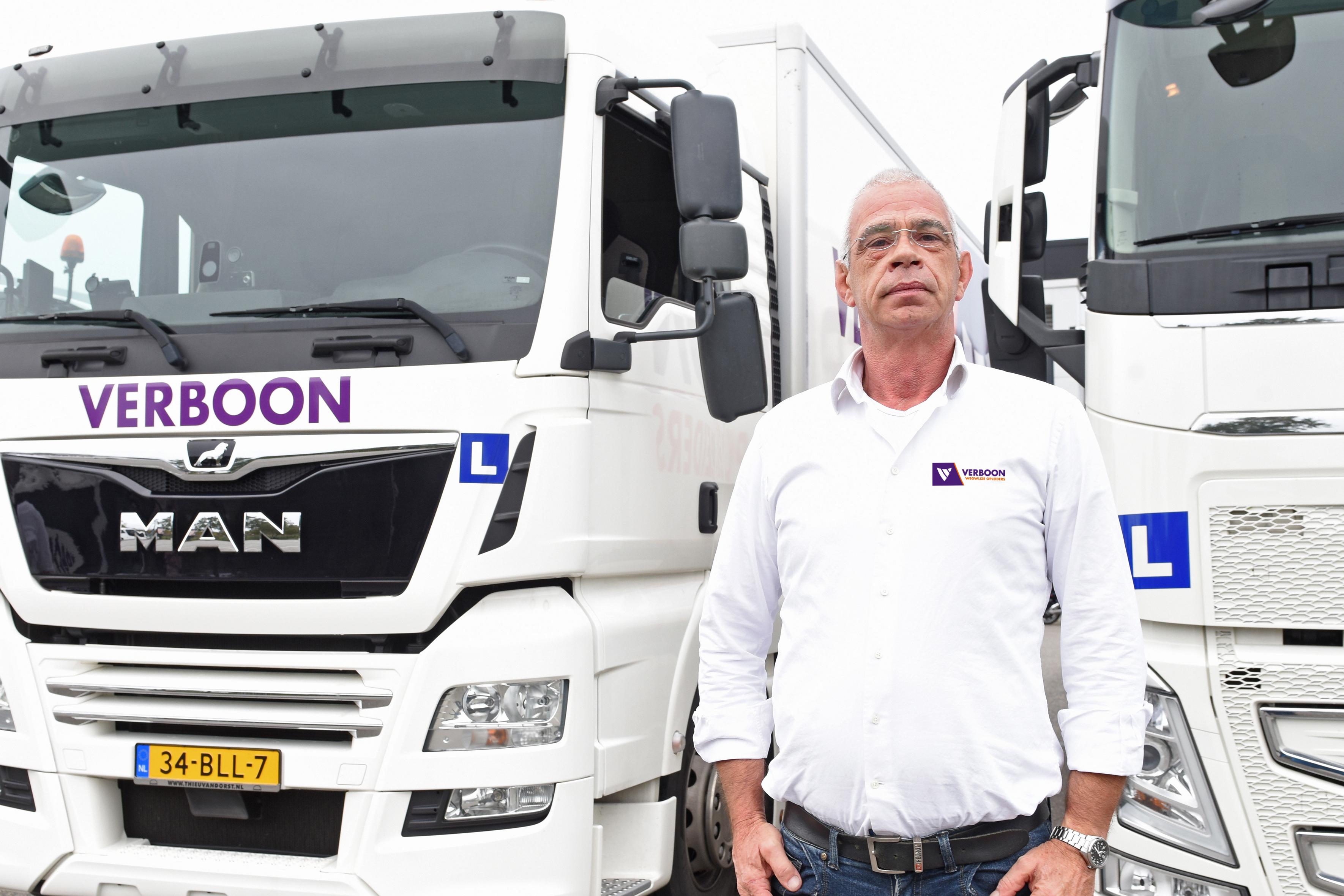 rijinstructeur Verboon wegwijze opleiders Oosterhout