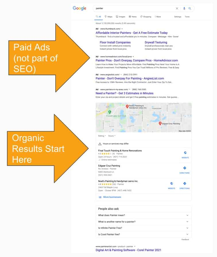 Seo Paid Ads Vs Organic 1