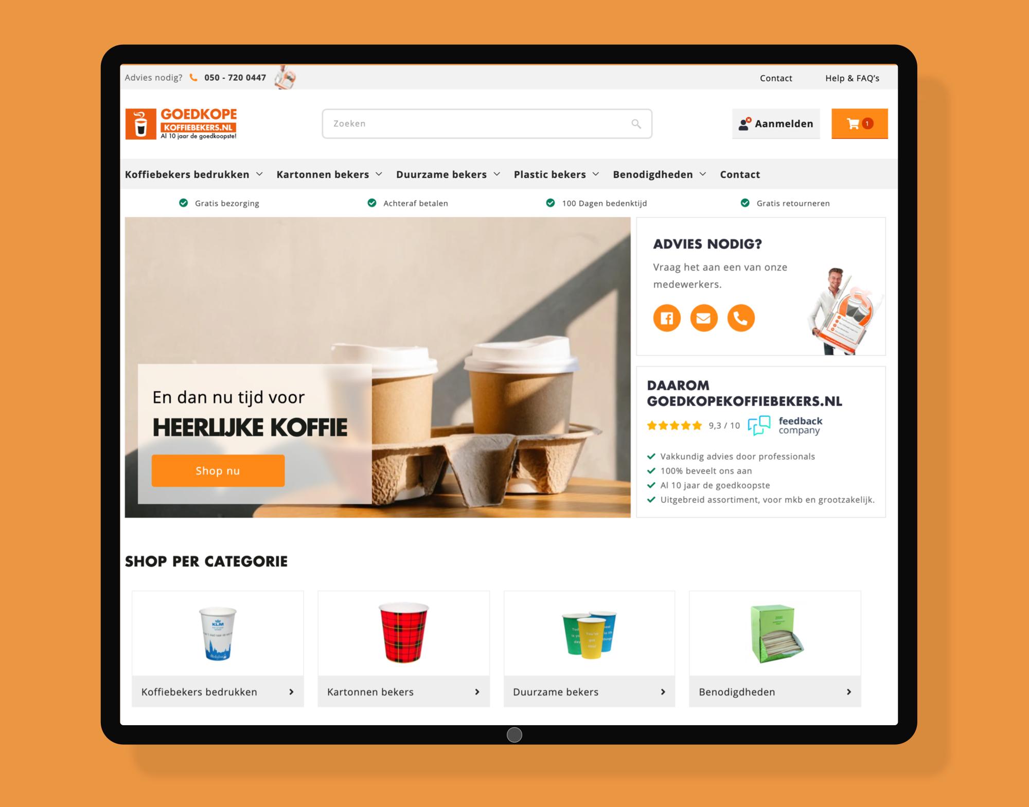 Snelle migratie van Magento 1 naar Shopify met een volledige nieuwe shop.