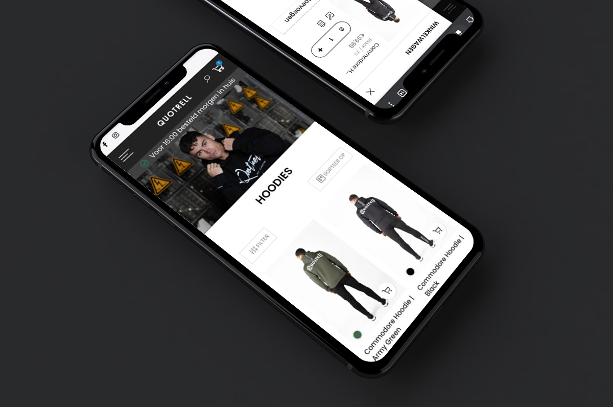 shopify webshop ontwikkelaar