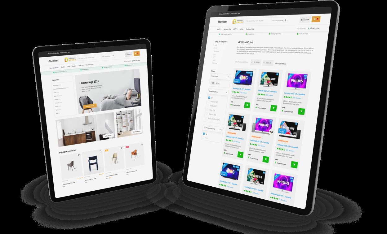 Shopify maatwerk thema laten ontwikkelen