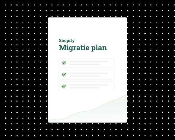 migratie plan van M1 naar Shopify