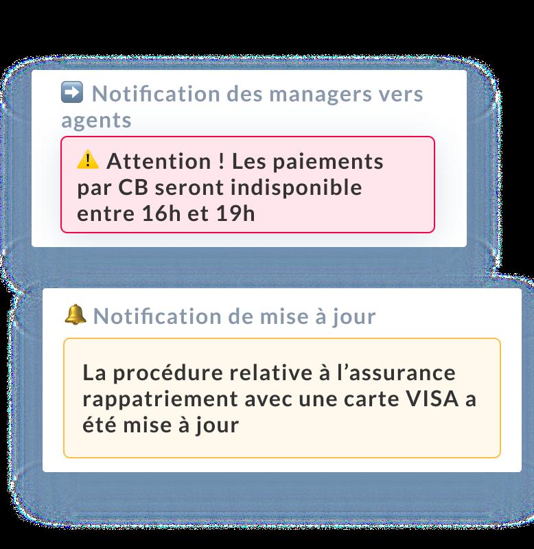 Mayday notification connaissance et process