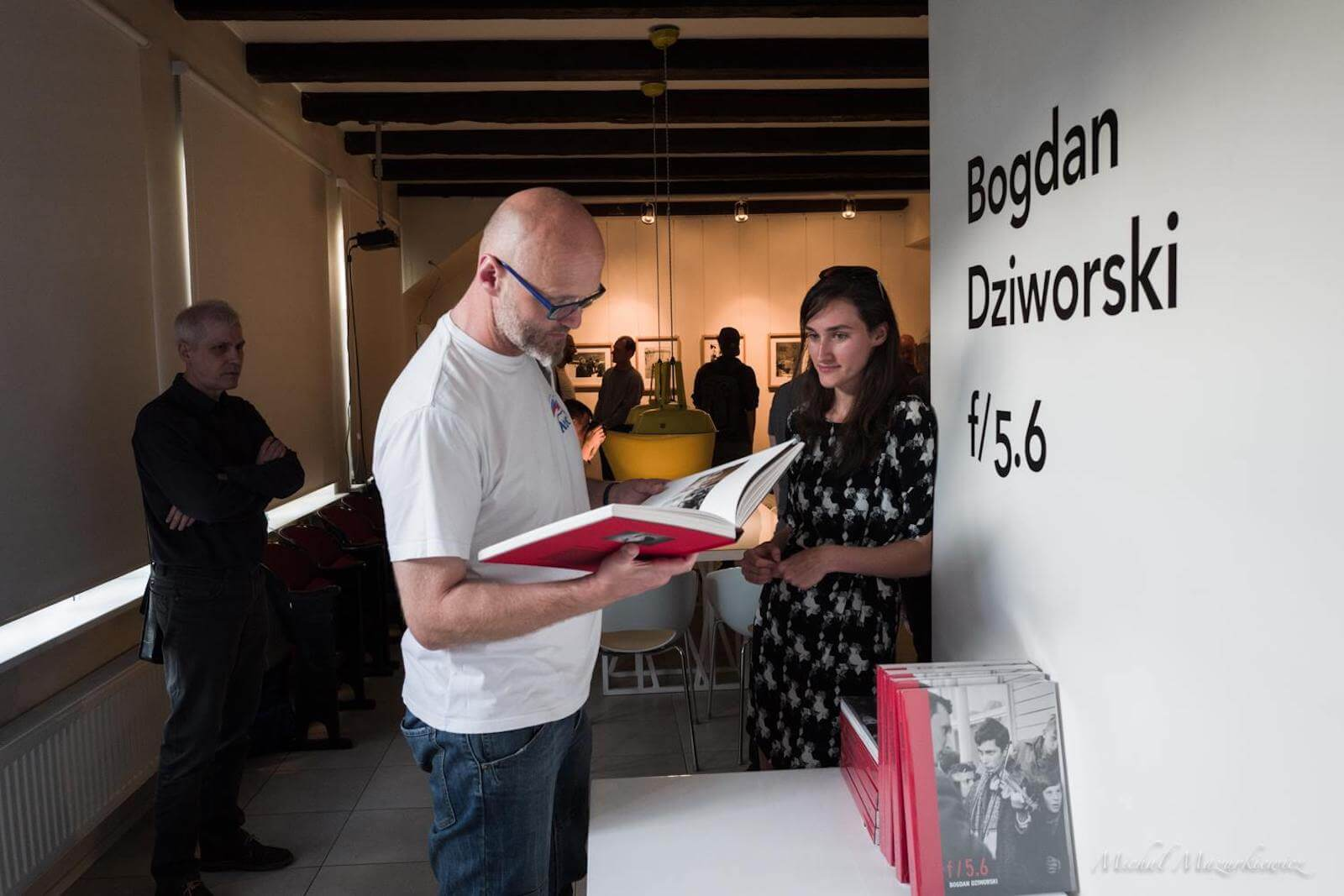 Wernisaż wystawy Bogdana Dziworskiego