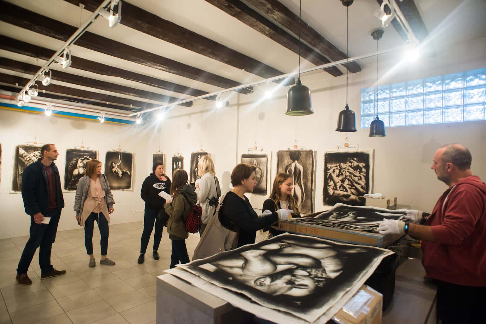 Wernisaż wystawy Laurent Benaim