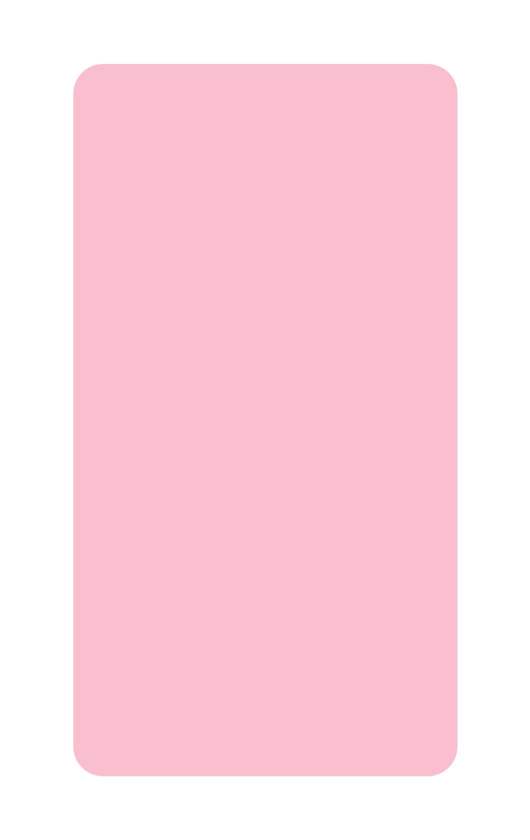 Light pink slider block image