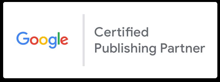 Google Certified Publishing Partner logo