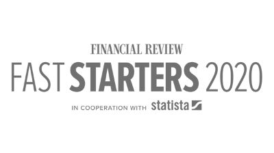 Financial Times Fast Starters Award