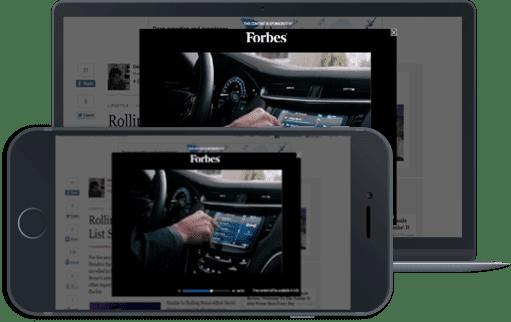 In-app advertising formats interstitial ads
