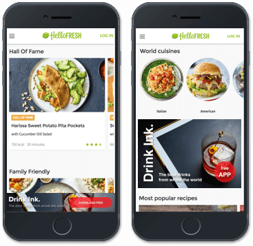 In-app advertising formats banner ads