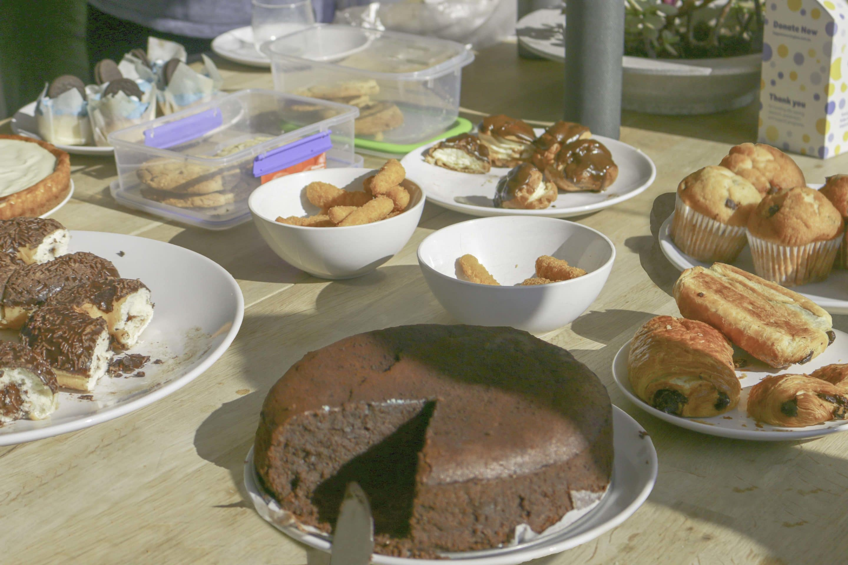 Baked treats at the Biggest Morning Tea at Publift 2019