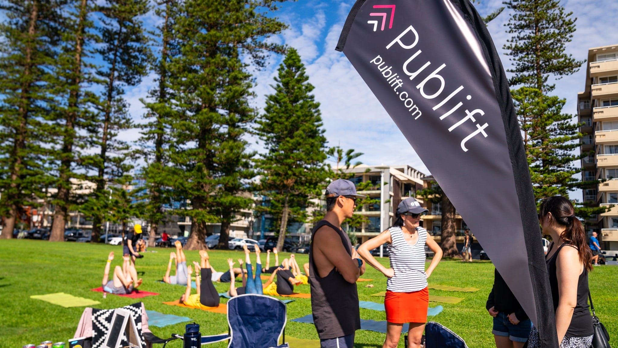 Publift at The Big Kahuna surf charity event with UnLtd