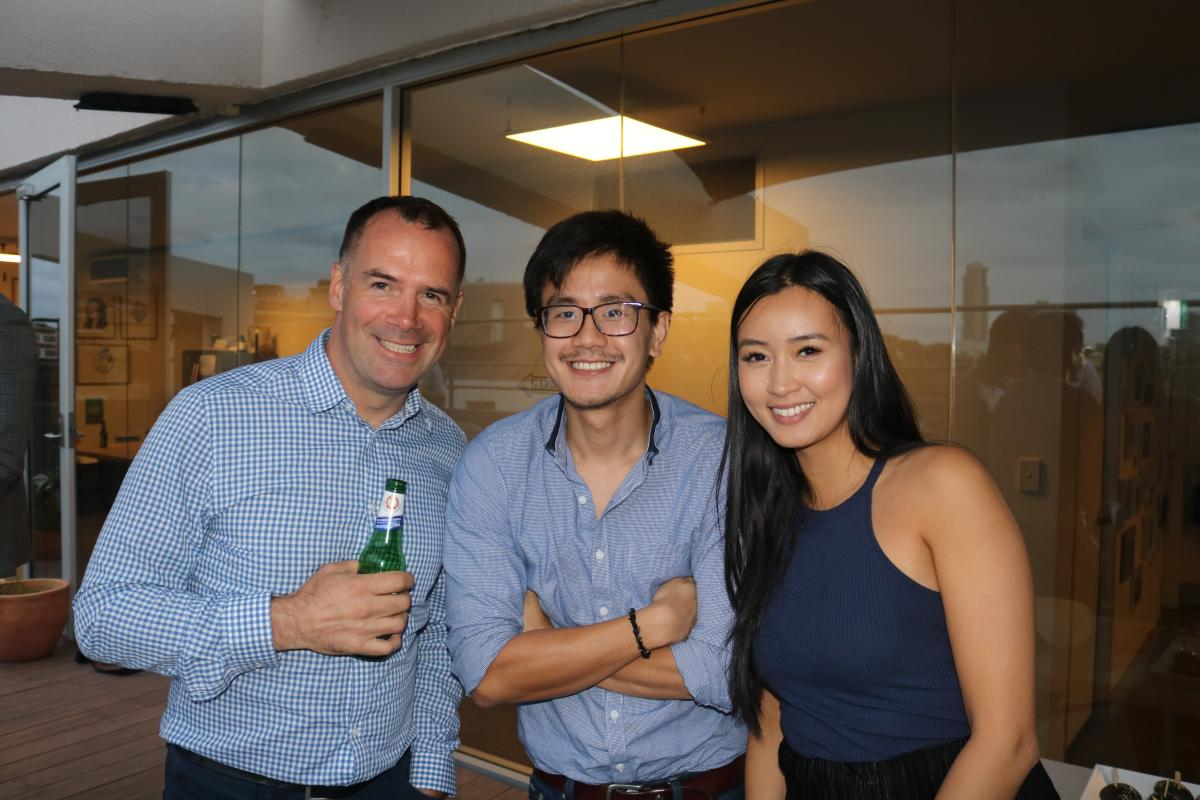 Publift staff and publishers mingle at the PubChat event in Sydney