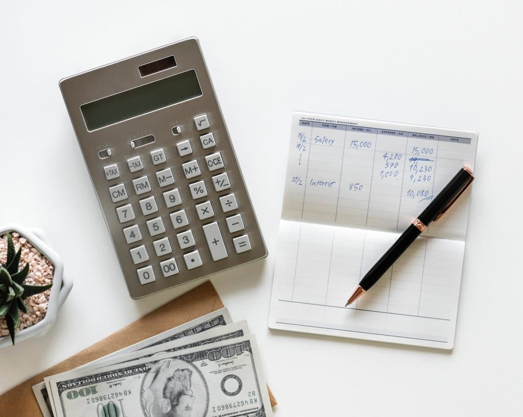 Calculator and sums