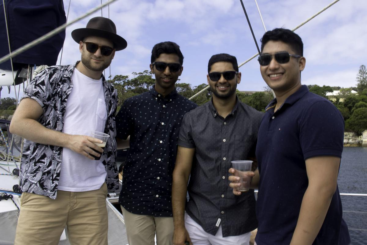 Publift's Christmas Boat Party 2018