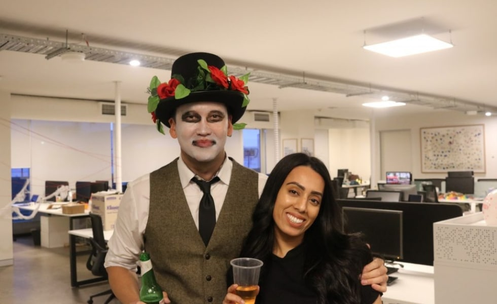 Publift staff dress up for Halloween