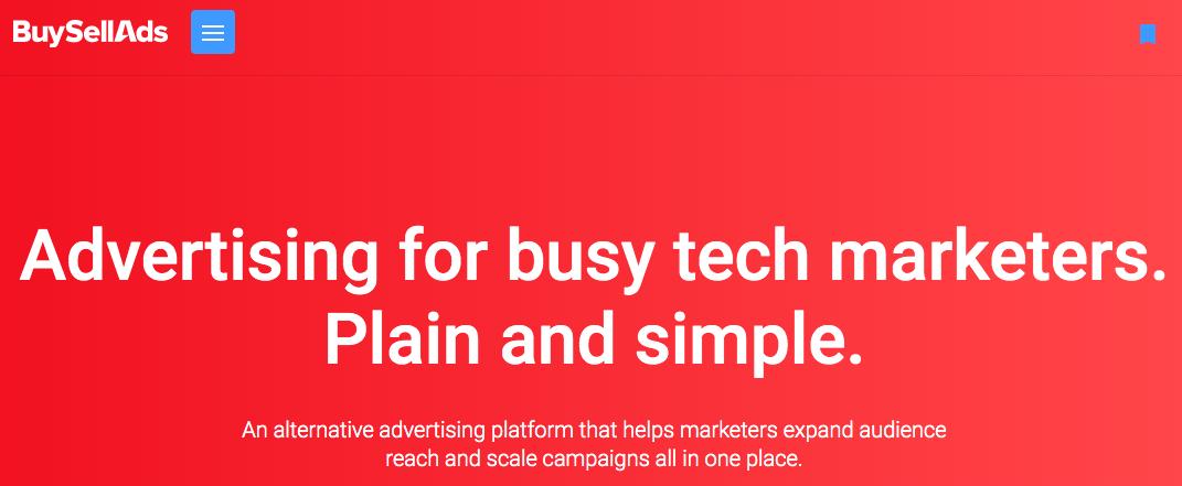 Google AdSense Alternatives - BuySellAds