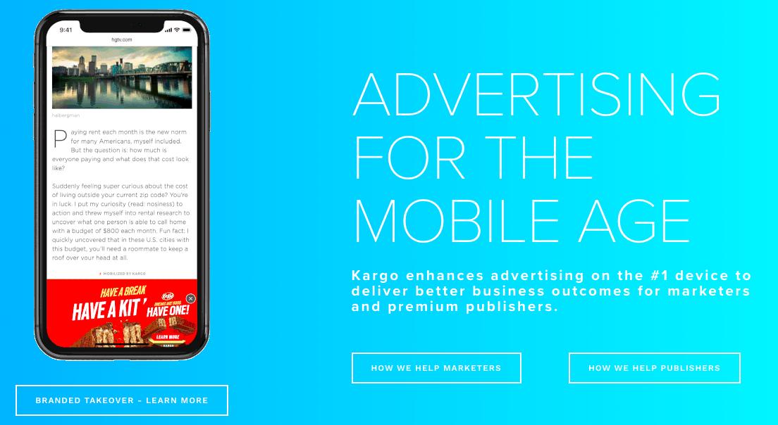 Google AdSense Alternatives - Kargo