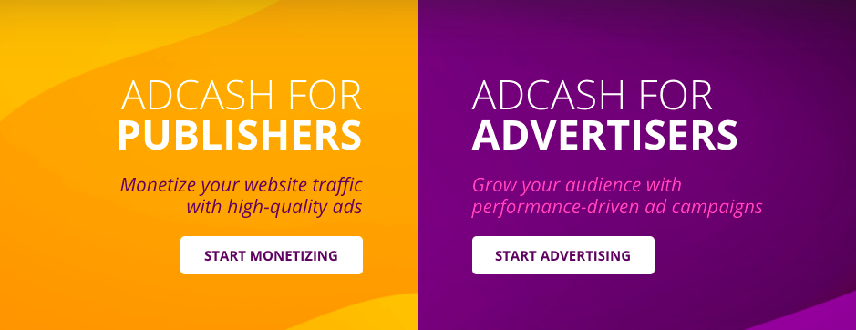 CPM Ad Networks - Adcash