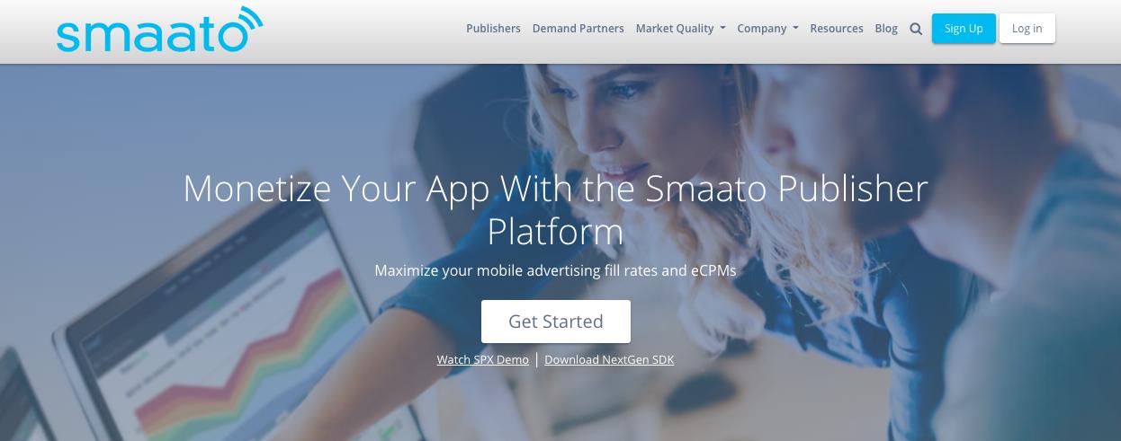 Smaato mobile ad network