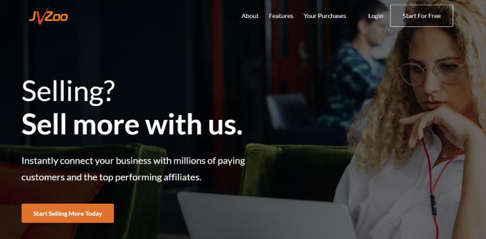 JVZoo Homepage